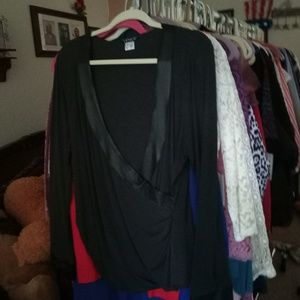 New Black Top/Blouse, XL